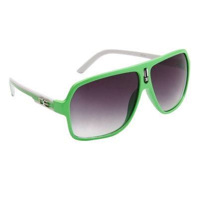 Pilotenbril, Designer Eyewear, Aviator zonnebril, Groen