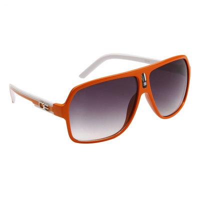 Pilotenbril, Designer Eyewear, Aviator zonnebril, Oranje