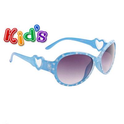 Kinder zonnebril, Dots, Blauw
