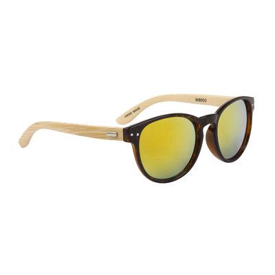 Houten zonnebril polaroid