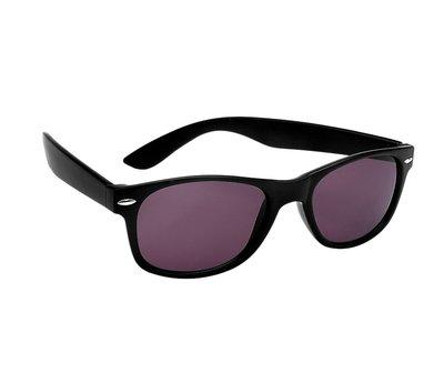 Polarized zonnebril, Detroit, Wayfarer zwart