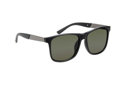 Gepolariseerde zonnebril, San Francisco, Zwart met donkere glazen