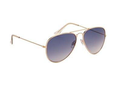 Pilotenbril, Zonnebril Tokio, Lichte blauwe glazen