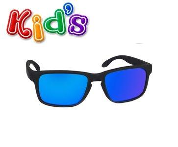 4a15cda6852992 Kinder zonnebril wayfarer zwart